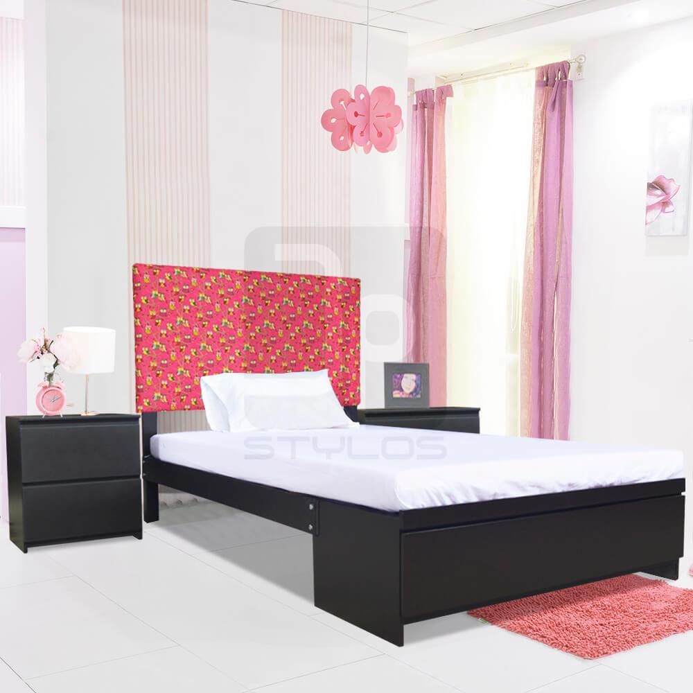 Dalia juego de dormitorio para ni as jp stylos muebler a for Almacenes de camas en ibague
