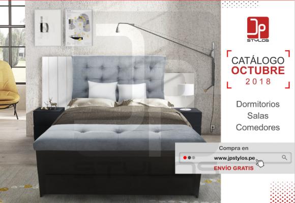 Catálogo de muebles Octubre 2018